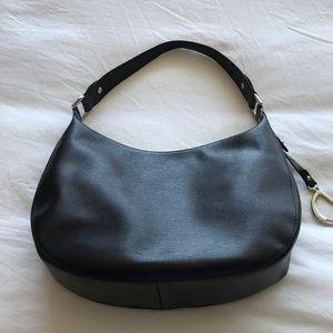 Ralph Lauren black leather handbag